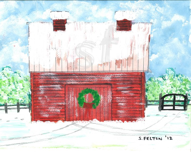 Hillsborough NC Barn 2012