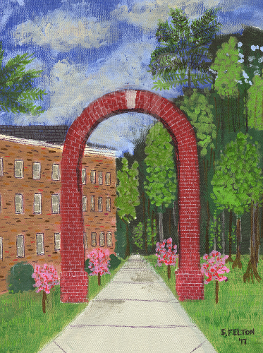 NC Wesleyan College Angel Arch