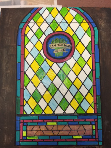 Stain Glass Window Oak City NC