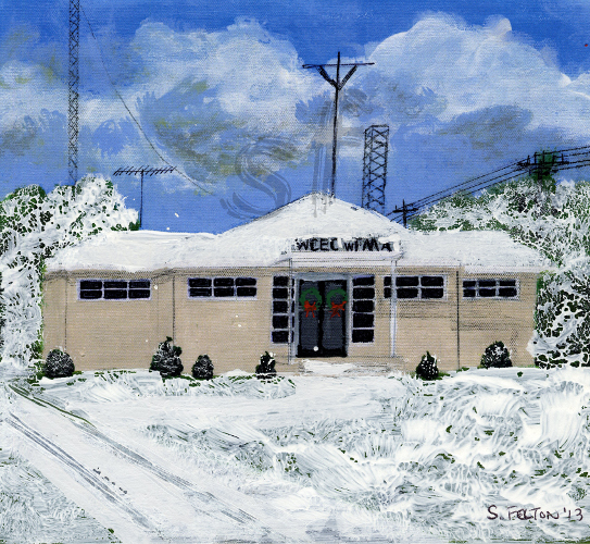 Rocky Mount 1st Radio Station Winter